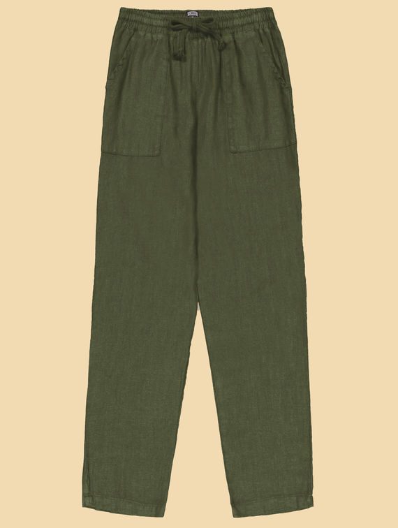 R-Collection Aaro Linen Trousers