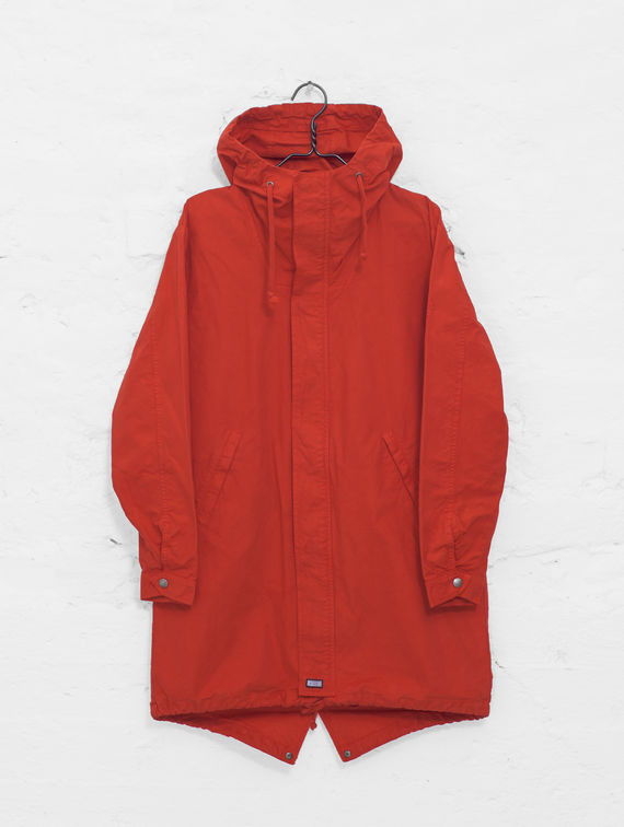 R-Collection Maxi Anorak red