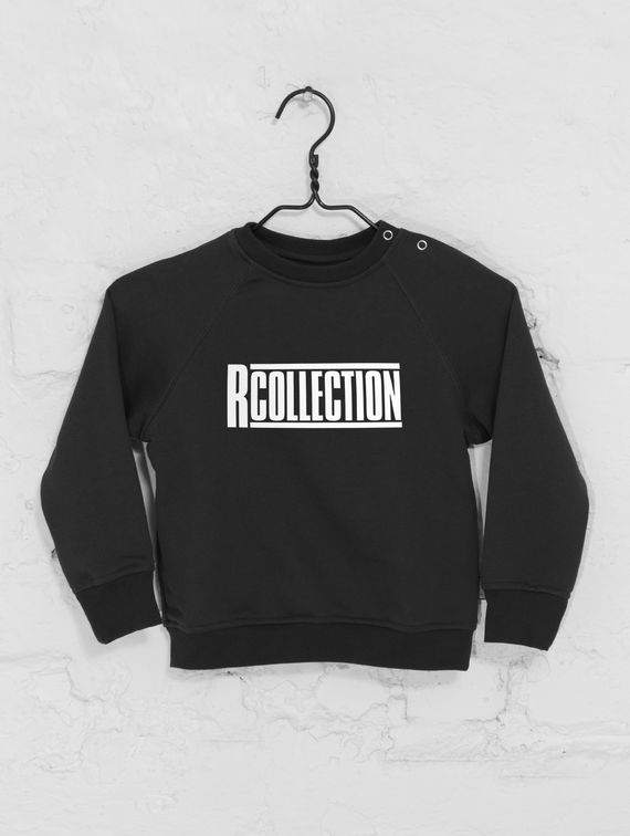 R-Collection Children's Mini Sweatshirt with logo