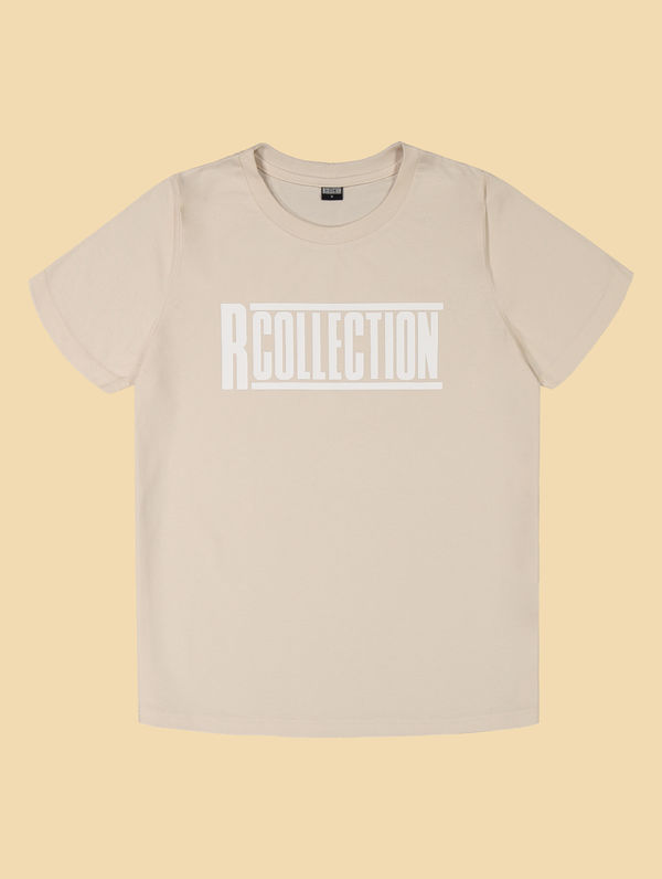 "Frauen T-shirt birkenweiß / ""R-Collection"" Logo weiß"