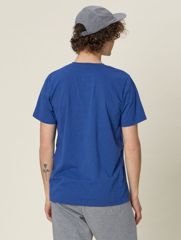 Recycling-T-Shirt (normale Passform) blau