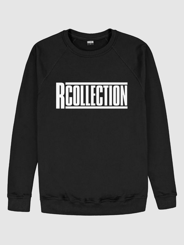 "Frauen-Sweatshirt schwarz  / ""R-Collection"" Logo weiß"