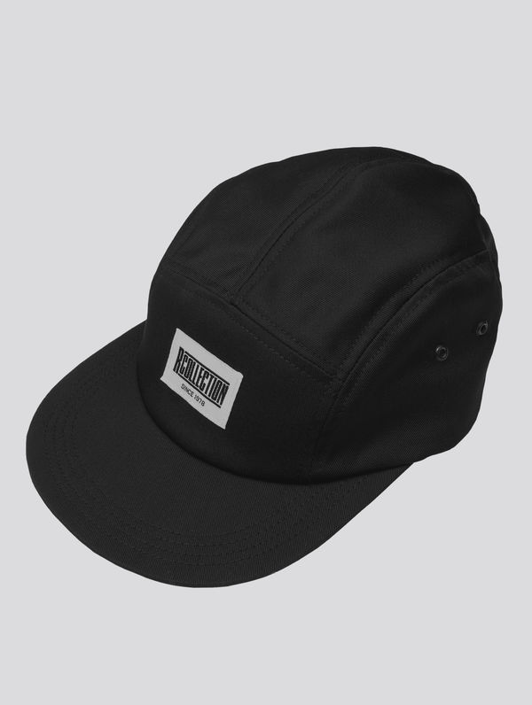 R-Collection 5-Panel-Cap schwarz